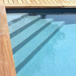 scala monoblocco per piscina